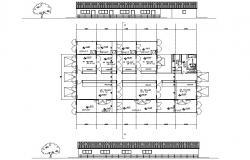 Cattle Shed Design CAD file