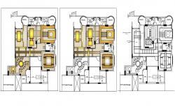 Ceiling Plan Design Download CAD file