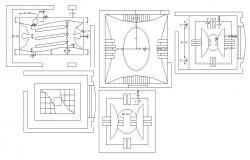 Ceiling Design In AutoCAD File