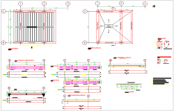 Ceiling design with structural detail