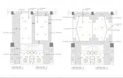 Ceiling drawing and detail cad files