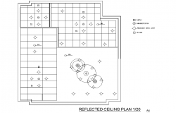 Ceiling house plan layout file