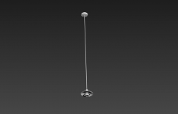 Ceiling light detail elevation 3d model 3d max file