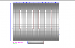 Ceiling plan of Coliseum architectural view dwg file
