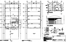 Cellar project plan detail dwg file