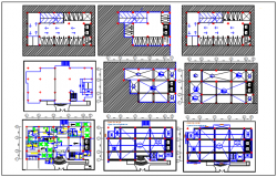 Celler plan to tarres plan detail dwg file