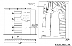 Celling design architect plan dwg file