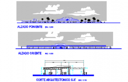 Central busher mosillo detail dwg file