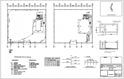 Centre line electrical plan detail dwg file
