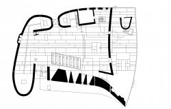 Chapel plan detail dwg file.