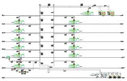 Chilled Water System Diagram AutoCAD File