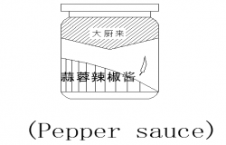 Chinese sauce front cad blocks