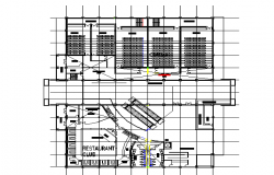 Cinema multiplex architectural plan
