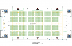 City Auditorium Plan dwg file