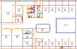 City Maternity Hospital Structure Details dwg file