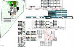 Clinic Design in DWG file