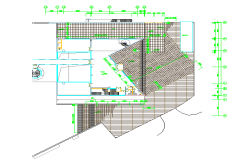 Club House Plan  Lay-out detail