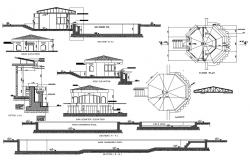 Clubhouse Plan AutoCAD File
