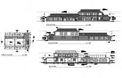Clubhouse Plan DWG File