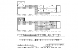 Co-operate building detail elevation 2d view layout file