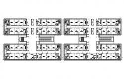 College Building Design AutoCAD File
