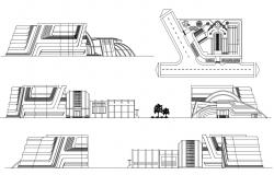College Building Elevation Design