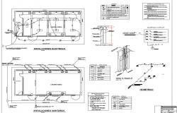 College laboratory architecture project dwg file