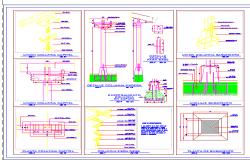Column Detail dwg file.