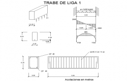 L section detail dwg file
