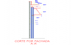 Column footing detail drawing