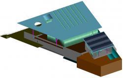 Commerce Building Design 3d Model AutoCAD File