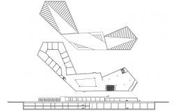 Commerce Building Elevation and Design Plan Download