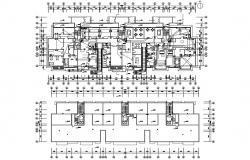 Commerce Building Hub AutoCAD Drawing plan