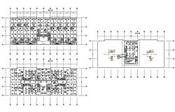 Commercial Building Architecture Plan