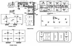 Commercial Building Design CAD Plan