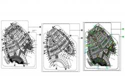 Commercial Building Layout Floors Plans Autocad File