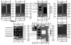 Commercial Building Plan DWG File