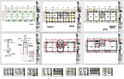 Commercial Building Project Detail dwg file