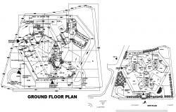 Commercial Building Site Plan