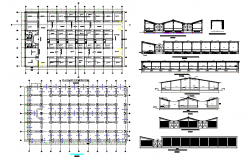 Commercial Complex Design in DWG file