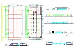 Commercial Complex Detail & Shop Detail.