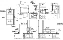 Commercial Kitchen CAD blocks Download
