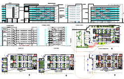Commercial Office Building detail dwg file