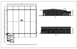 Commercial Shop Design Lay-out & elevation.