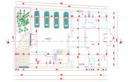 Commercial Store Design Architecture Plan