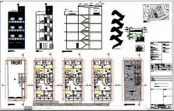 Commercial and residential building project.