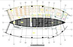Commercial building architecture layout plan