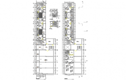 Commercial building dwg file