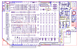 Commercial building floor plan dwg