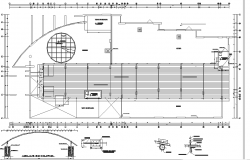 Commercial plan Office detail dwg file